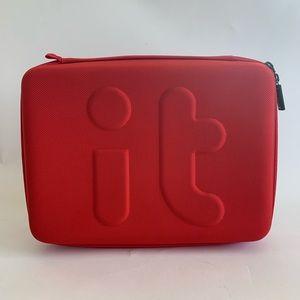 Invent It Universal Organizer Travel Case Red